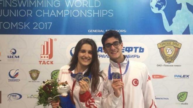 Ayşe Ceren Yeşilbaş dünya şampiyonu oldu!