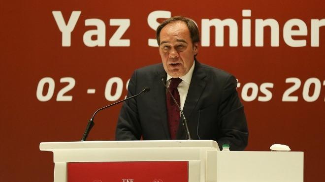 Yıldırım Demirören'in TFF Başkanlığı'ndan istifası