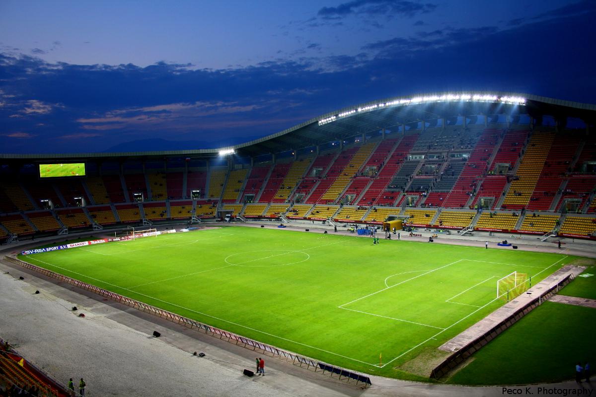 Üsküp, Süper Kupa maçına hazır