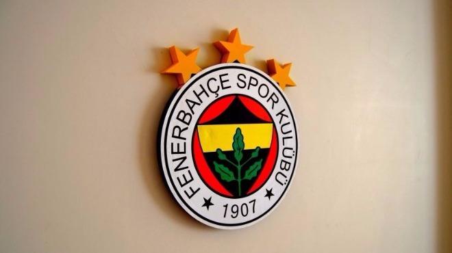 Fenerbahçe'den tebrik mesajı!