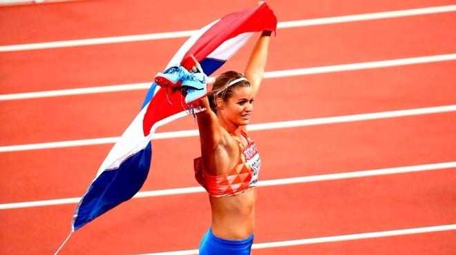 Kadınlarda altın madalyayı Dafne Schippers kazandı