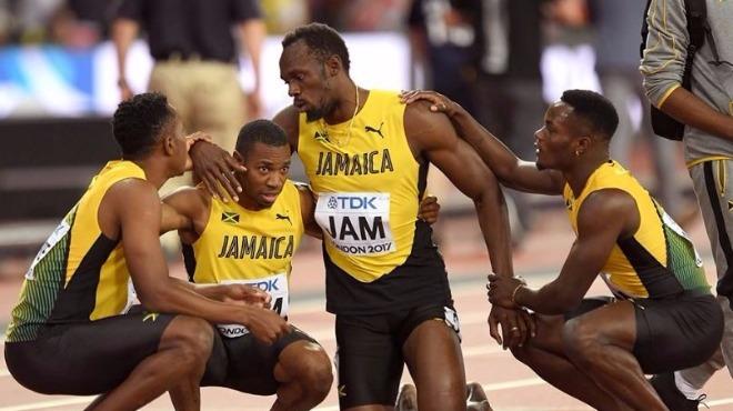 Bolt'un arkadaşlarından yaylım ateşi!