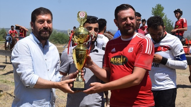 Sivas Atlı Cirit Spor Kulübü birinci oldu..