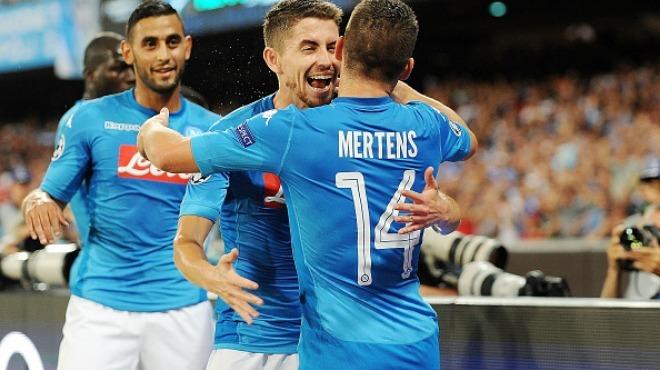 Sneijder'siz Nice, Napoli'ye direnemedi!