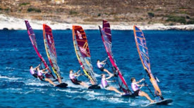 Rüzgar sörfü liginde son ayak heyecanı sürüyor!
