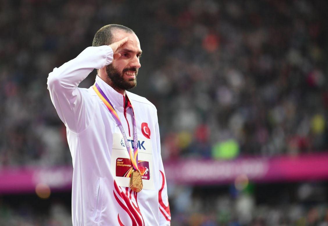 Ramil Guliyev'den ikincilik! Bu sefer 100 metrede...