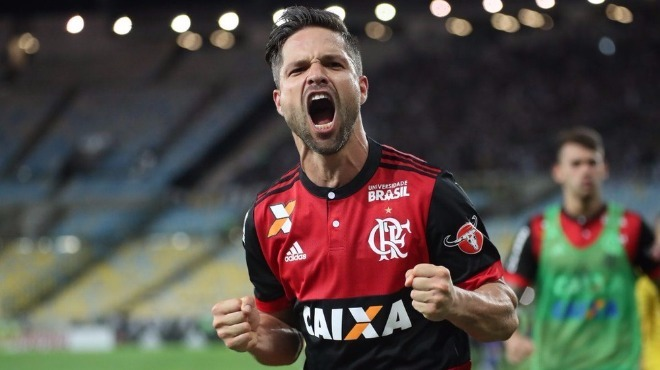 Diego attı, Flamengo finale yükseldi