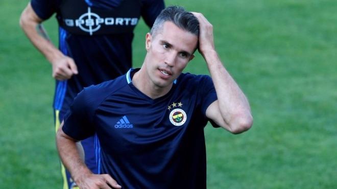 Fenerbahçe'de Van Persie şoku! Kaç hafta yok?