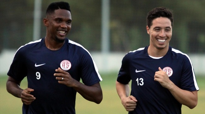 Antalyaspor'dan Nasri ve Eto'o açıklaması! Galatasaray'dan teklif geldi mi?