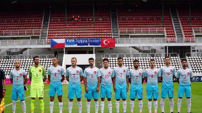 Ümit Milli Futbol Takımı, Çekya'yla berabere kaldı