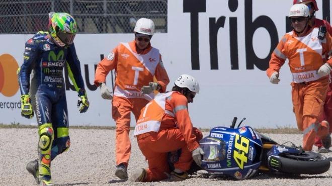 İtalyan pilot kaza geçirdi! Ameliyat...