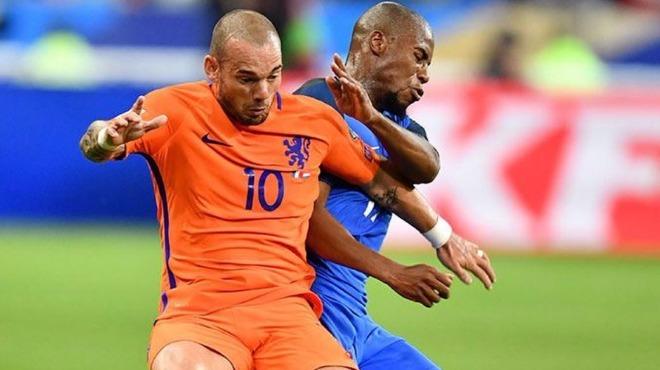 Sneijder, Hollanda'ya veda ediyor!