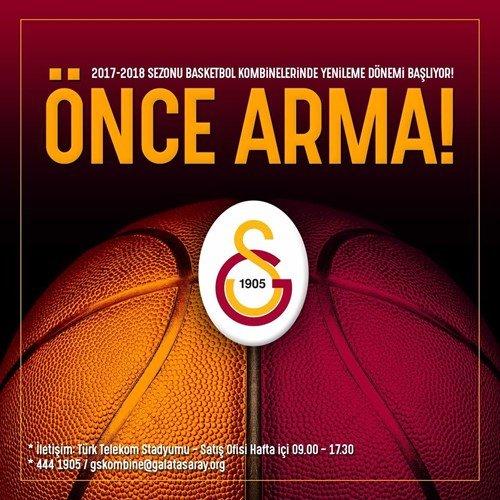 Galatasaray basketbol kombinelerini satışa sundu!