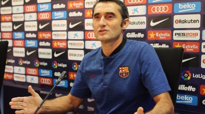 Ernesto Valverde: ''El-Clasico, her zaman El-Clasico'dur''
