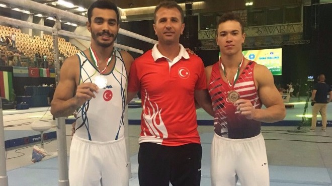 Milli cimnastikçilerden tarihi final