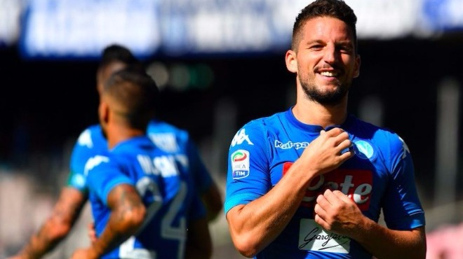 Napoli'den yarım düzine gol! Mertens başrolde...