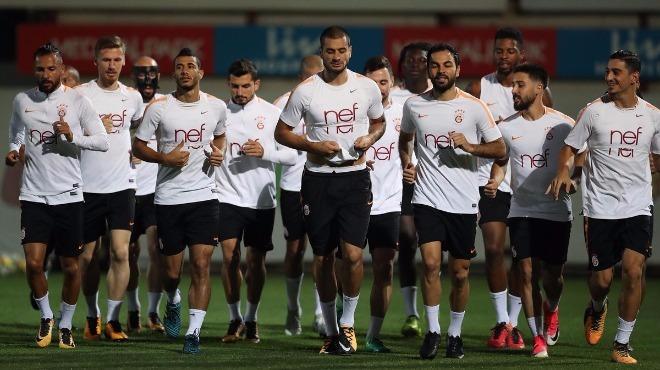 Galatasaray, Bursaspor maçı hazırlıklarına başladı