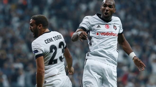 Vodafone Park'ta Beşiktaş'ın 100.golü Babel'den