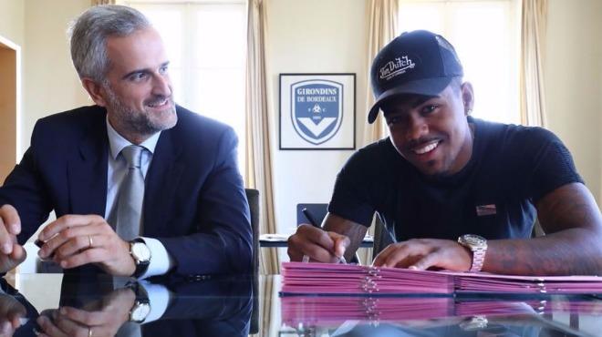 Brezilyalı yıldız Bordeaux ile imzaladı