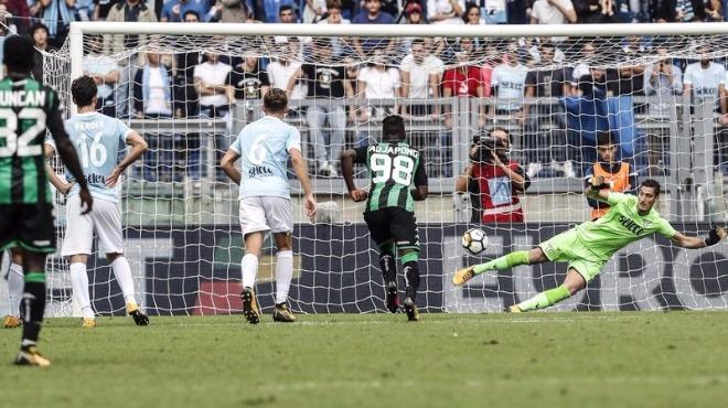 Lazio taraftarlarından yine ırkçı tezahürat!