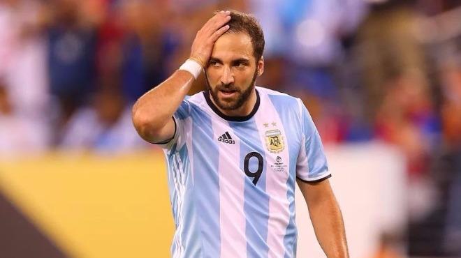 Higuain milli takımı bıraktı