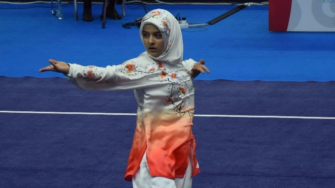 Zeynep Makbule Akyüz, bronz madalya kazandı!