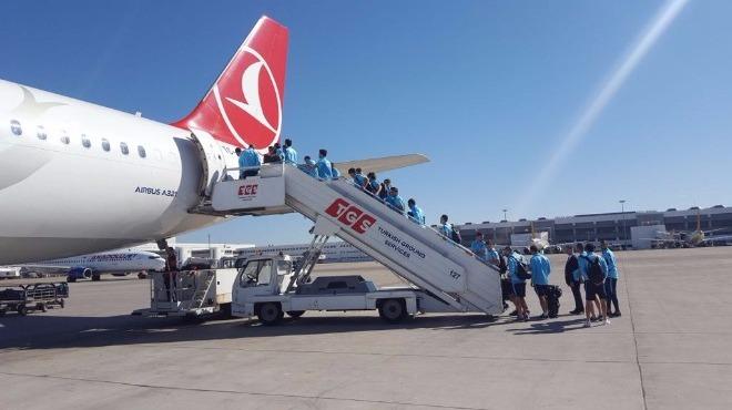 A Milli Futbol Takımı, Eskişehir'e gitti