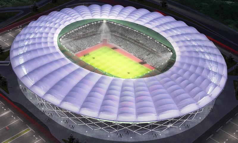 Muhteşem stadyum açılıyor!