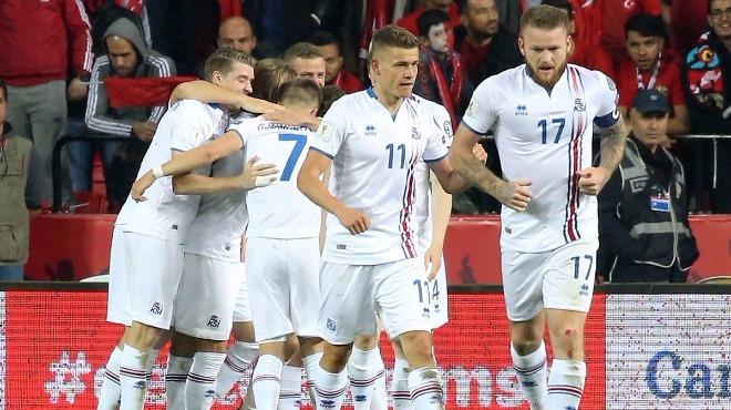 İzlanda bir kez daha tarih yazdı! EURO 2016'dan sonra...