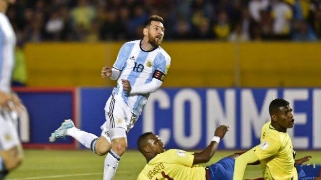 Messi attı,Arjantin Rusya biletini kaptı