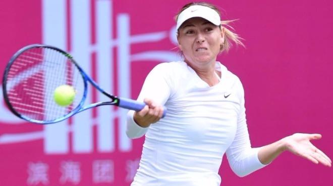 Sharapova Çin'de finalde!