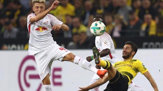 Dortmund'u da yenerler! RB Leipzig lige heyecan kattı...