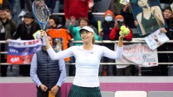 Çin'de şampiyon Sharapova