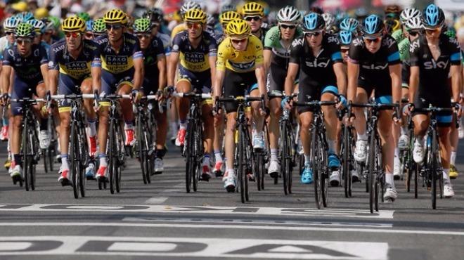 Fransa Bisiklet Turu'nun 13. etabını, Peter Sagan kazandı