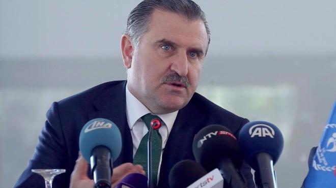 Osman Aşkın Bak, Avrupa Şampiyonu Yusuf Dikeç'i tebrik etti