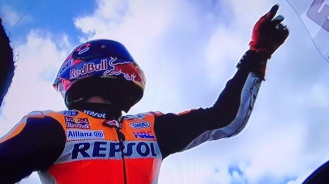 Marquez'den şampiyonluk adımı!