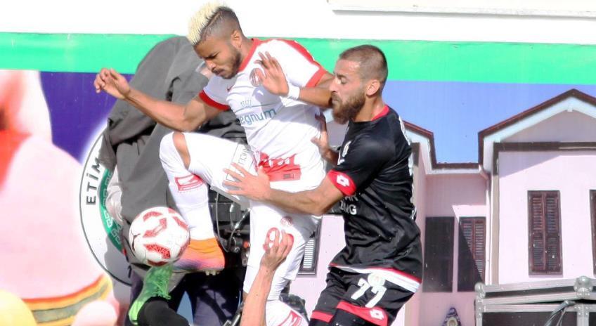 Antalyaspor sürprize izin vermedi! Tek gol...