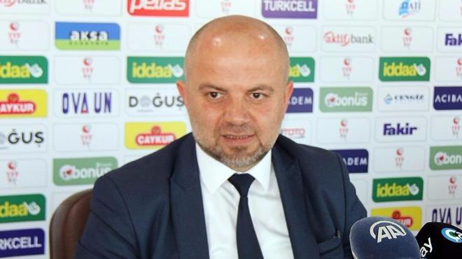 """Hasan Yavuz Bakır: """"Bu ligde her puan çok değerli"""""""