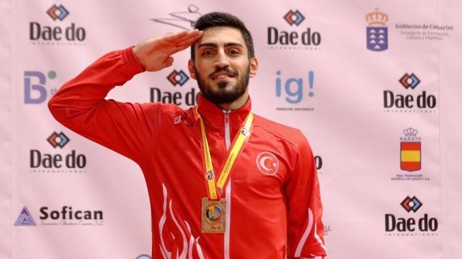 Alpaslan Yamanoğlu, dünya şampiyonluğuna ulaştı!