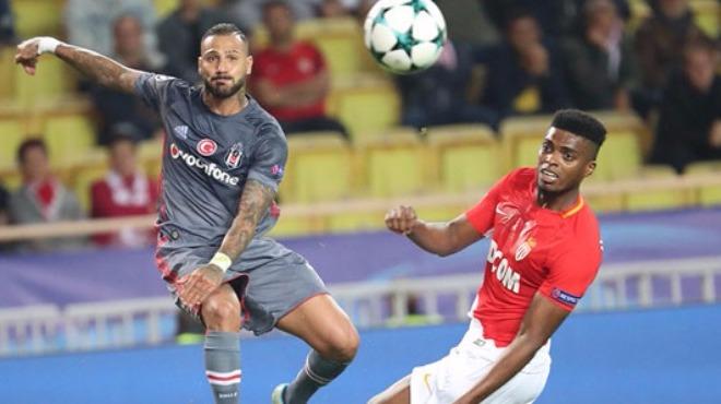 Beşiktaş ilk yarıda kaleyi bulmakta zorlandı
