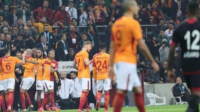Galatasaray'ın yabancıları coştu!