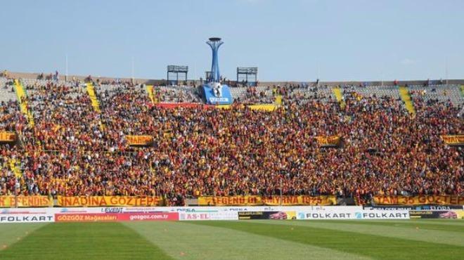 Göztepe-Beşiktaş maçına yoğun önlem