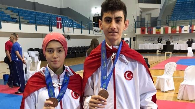 Gençlerden iki madalya daha!