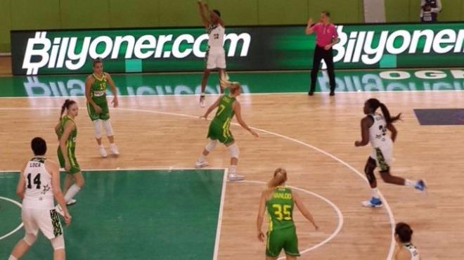 Melisa-Walker ikilisi Ormanspor'u galibiyete taşıdı!