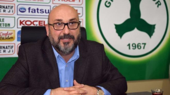 Giresunspor'un 51. kuruluş yıl dönümü kutlandı: 'Hep berabere sahip çıkalım'