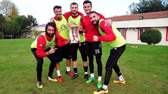 Samsunspor'da futbolculara kupa sürprizi