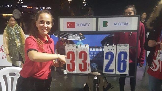Madalyayı kazandı, Türkiye tarihine geçti!