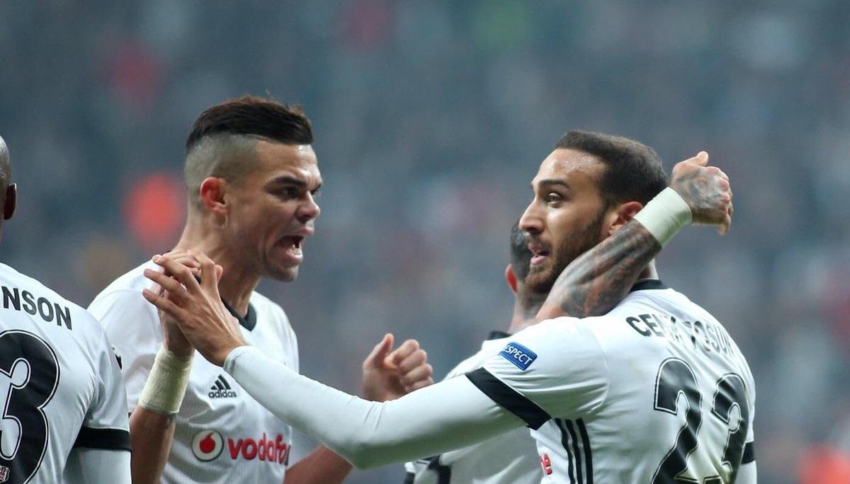 Vodafone Park'ın golcüsü Pepe!