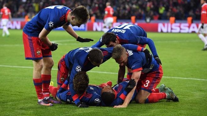 CSKA Moskova, kritik maçta Benfica'yı 2-0 ile geçti!