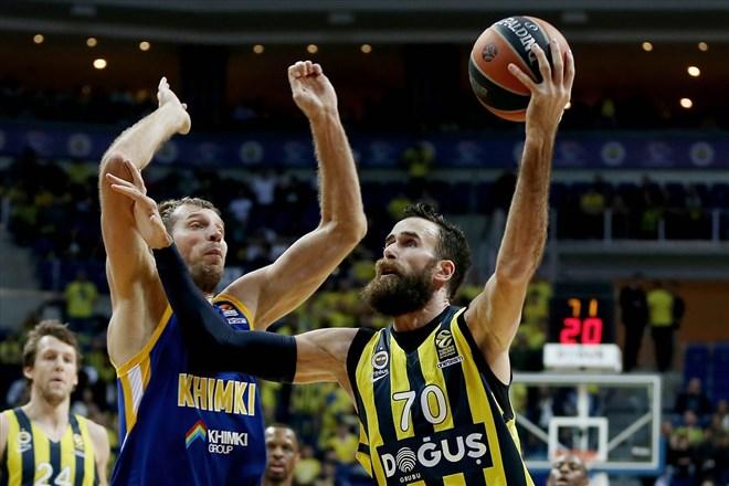 Fenerbahçe Doğuş, Khimki karşısında kazanmasını bildi!